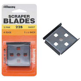 Allway Soft Grip Scraper & Replacement Blades